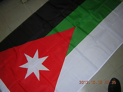 Reproduced Pre French Mandate Hashemite Kingdom of Syria 1920 Flag Ensign 3X5ft