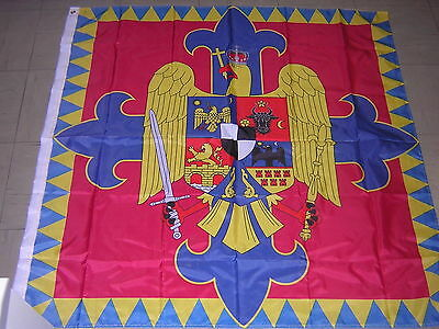 NEW Reproduced Flag Royal Standard of Romania 1922 - 1947 Ensign 120X120cm