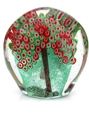X BIG 1.8kg Vintage Art Glass Multi Coloured Millefiori Tree Collection