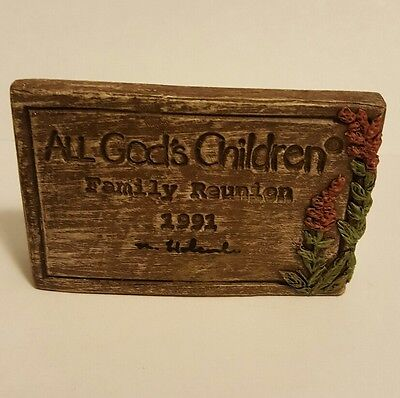 All God's Children, Family Reunion, 1991, sign MARTHA Holcombe, RARE, signed