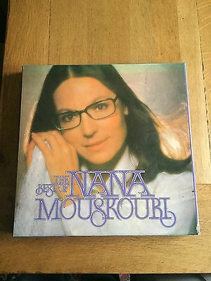 LP Box Set The Best Of Nana Mouskouri 7 records