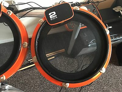 "2BOX 10"" tom for drum-it roland td alesis electronic v-drum mesh head."