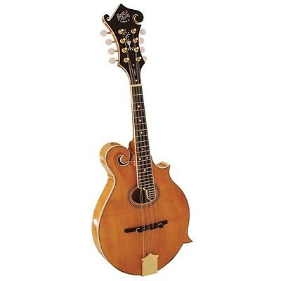Barnes and Mullins Piercy Scroll Top Mandolin