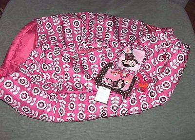 Boppy Shopping Cart High Chair Cover Pink Olivia Baby Girls