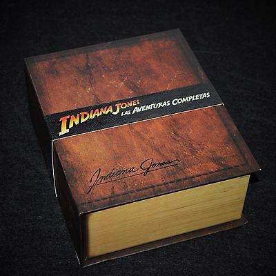 Indiana Jones The Complete Adventures Limited Edition Collectors Edition Blu-ray