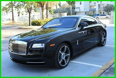 2014 Rolls-Royce Wraith Base Coupe 2-Door tunning Black Over Black, Starlight, Showroom Condition! Priced 4 quick sale