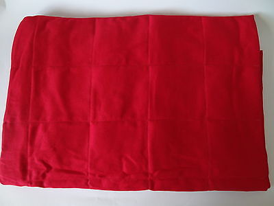 Red Weighted Therapy Blanket- CE Certified, All Sizes, Free Postage