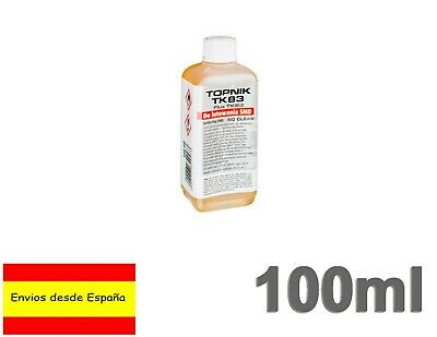 Flux Liquido 100ml soldadura Colofonia base de alcohol cuerpos sólidos TK83 Q017