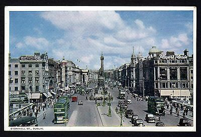 DUBLIN: O'Connell Street ~ 1950's ~ Posted