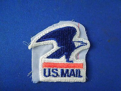 Obsolete US Mail Postal Service Eagle Patch on Fabric