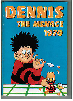DENNIS THE MENACE ANNUAL 1970 from Beano Comic NICE!