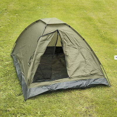 3 Man Three Person Iglu Standard Waterproof Military Army Camping Tent Green NEW