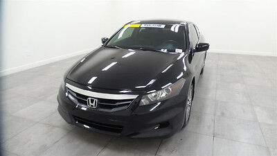 2012 Honda Accord EX-L Coupe 2-Door 2012 Heated Driver Seat Sunroof BlueTooth Leather Dual Climate