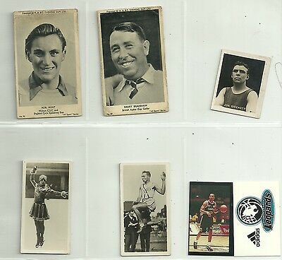 7 x Sports Trade Cards - A & BC & Others