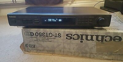 Technics ST-GT350 Stereo Synthesizer Tuner
