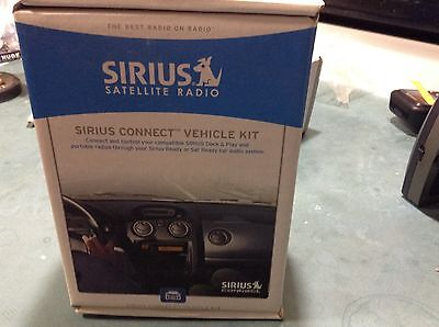NEW OPENED SIRIUS Connect Vehicle Kit for SIRIUS-Ready Radios SCVDOC1B SCVDOC1