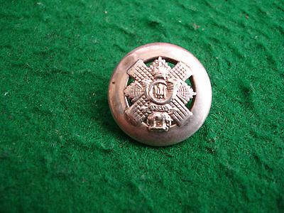 WW1 Sweetheart Badge Highland Light Infantry Solid Silver Hallmarked 1915 Bham
