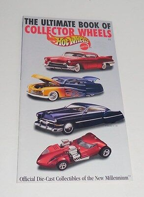 1998 Mattel Hotwheels The Ultimate Book Of Collector Wheels Neat!!! 31 Pages!