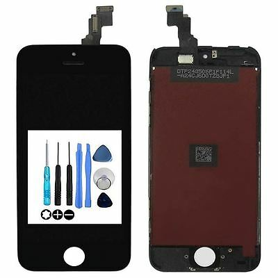 For Apple iPhone 5C LCD Black display Screen Digitizer Touch Assembly Frame
