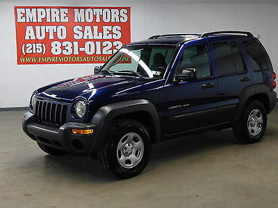2003 Jeep Liberty Sport Sport Utility 4-Door 03 Jeep Liberty Sport 4WD Only 113K Miles 3.7l 6CYL 4X4 Auto NO RESERVE