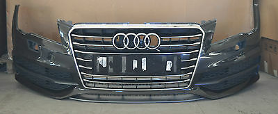 Genuine Audi A7 Front Bumper S-Line black With Grille 2011 ONWARDS