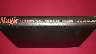 Magic Book, Magic for entertaining by Mulholland.