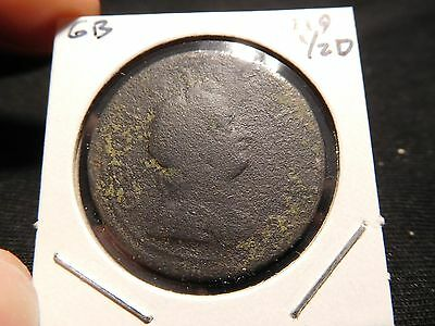 Great Britain 1718 1/2 Penny
