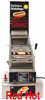 New Benchmark Doghouse Hotdog, Sausage Cooker, Steamer Hot Dog Cooker 60024