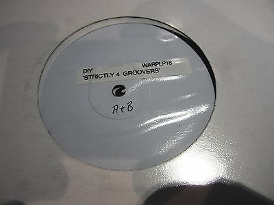 """DiY """"STRICTLY FOR GROOVERS"""" RARE W/L PROMO 2 x LP WARPLP 18"""