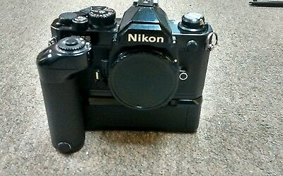 Nikon FM2  camera N7783071 and MD12 Japan 300608