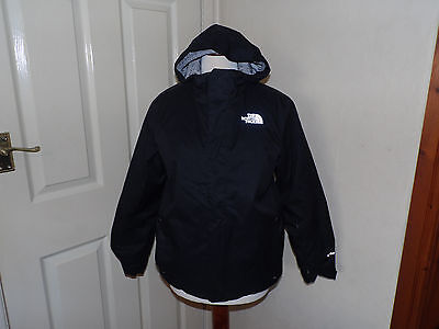 The North Face Youth Junior Size Large L Snow Quest Jacket TNF Black Boys Girls