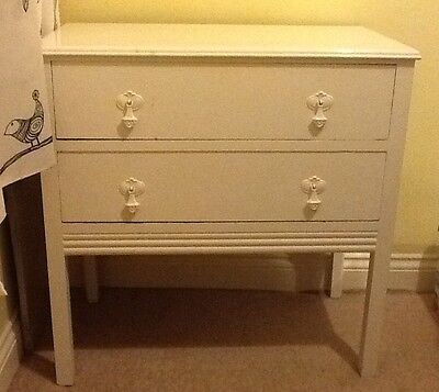 Vintage White Painted Drawers Early 20th Century Collection From Leeds 17