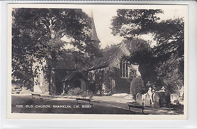 Bay Series Postcard The Old Church, Shanklin, Isle Of Wight D597