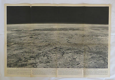 National Geographic Map Division Between Troposphere & Stratosphere  1936 (F9)