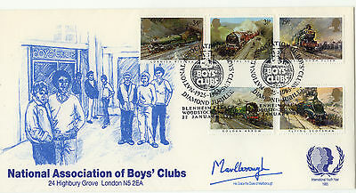 1985 NABC Famous Trains Official FDC 1 of only 50 produced