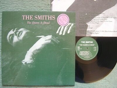The Smiths Lp The Queen Is Dead Ex+/m- With Inner