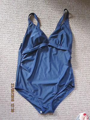 Mama-Licious Navy Swimsuit - Size M - Excellent Condition