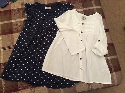Girls Next Dress And Top Size 4-5