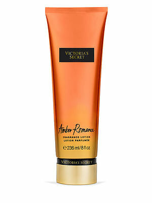 Victoria's Secret Fantasies AMBER ROMANCE Body Fragrance Lotion 8oz New