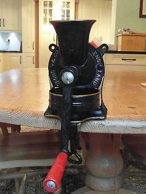 Spong NO.1 Coffee Grinder Cast Iron with tray