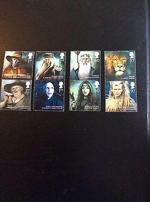 Gb Stamps Mint Unmounted Magical Realms 2011 8 Stamps Various Values 1st - 97p