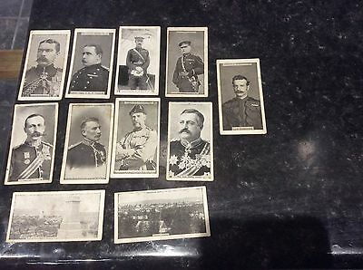 10 Wills Transvaal Series Cigarette  Cards