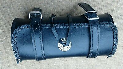 motorcycle leather tool roll