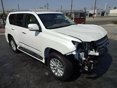 2015 Lexus GX 460 2015 Lexus GX 460 Salvage Damaged Fixer Loaded! Options!! Must See Wont last!!