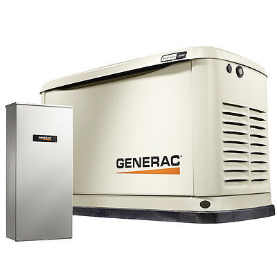 Generac 7037 16kW 200-Amp Air-Cooled Standby Back-up Power Generator