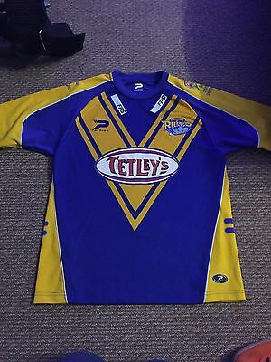 Leeds Rhinos Rugby League Shirt Men's Medium