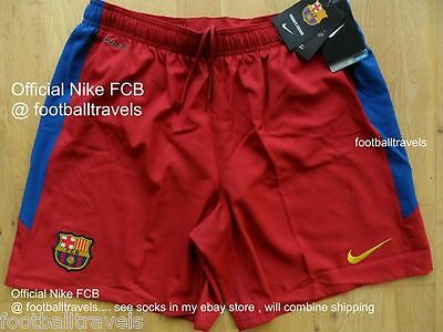 L or XXL OFFICIAL NIKE FC BARCELONA HOME SHORTS 2010-11 football soccer