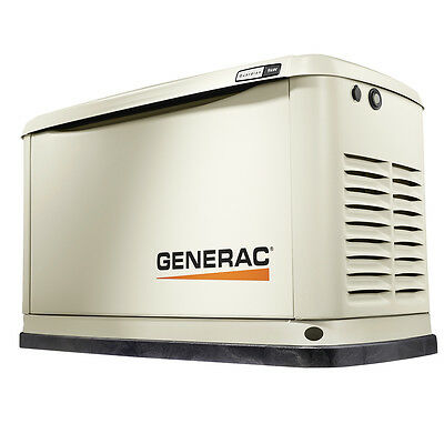 Generac 7029 9 kW 50-Amp Air-Cooled Standby Back-up Power Generator