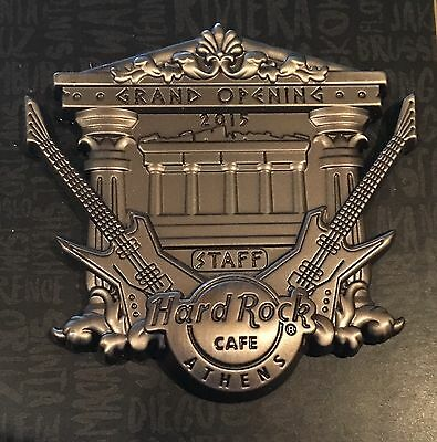 Hard Rock Cafe Athens Greece Grand Opening Staff 2015 Pin Temple