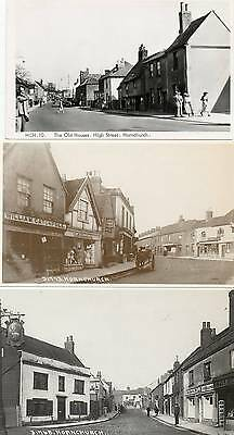 7 REPRODUCTION PHOTO POSTCARDS of HOURNCHURCH, ESSEX